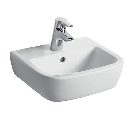 Ideal Standard Tempo 400mm 1 Tap Hole Handrinse Basin - T059301