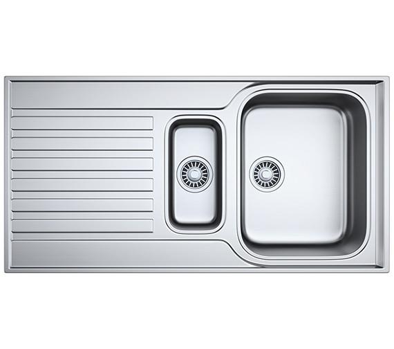Franke Ascona ASX 651 Stainless Steel 1.5 Bowl Kitchen Inset Sink