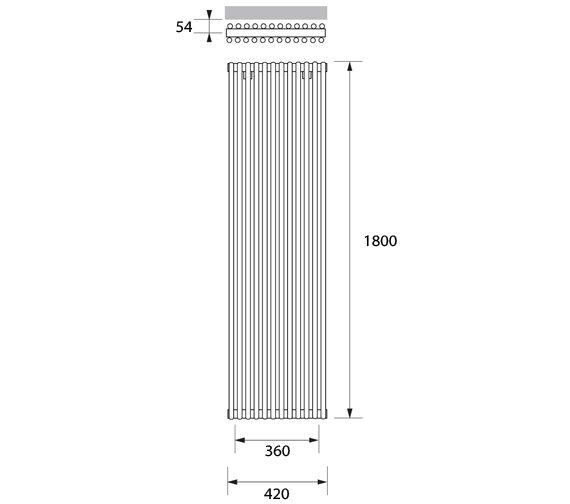 Technical drawing QS-V83262 / VRL011180042