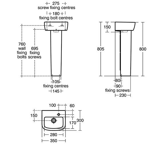 Technical drawing QS-V10480 / T059701