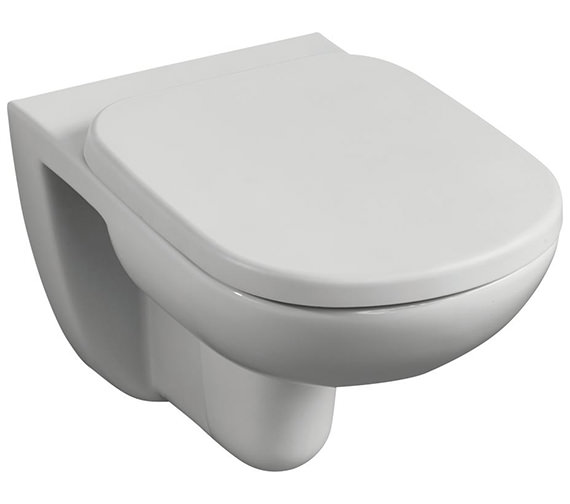 Ideal Standard Tempo Wall Mounted WC Pan With Horizontal Outlet