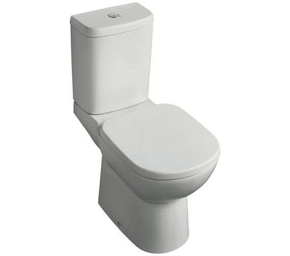 Ideal Standard Tempo Close Coupled WC Pan - Horizontal Outlet