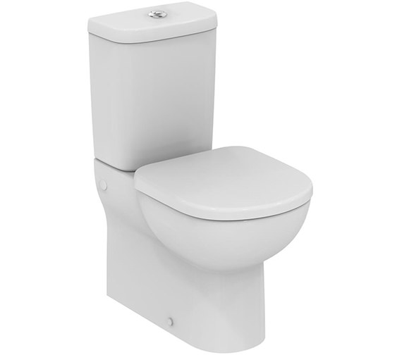 Ideal Standard Tempo Close Coupled Back-To-Wall Short Projection WC Pan
