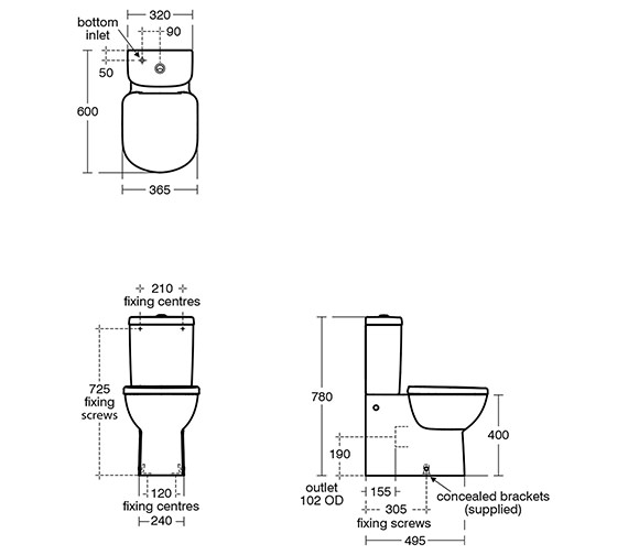 Technical drawing QS-V10484 / T328701