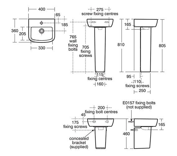 Technical drawing QS-V10477 / T059401