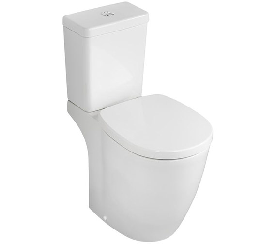 Ideal Standard Concept Freedom Raised Height Close Coupled WC Pan 655mm