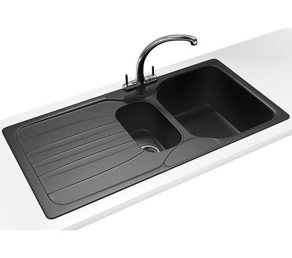 Franke Calypso Sink : Franke Calypso Propack COG 651 Fragranite Graphite Sink And Tap 114 ...