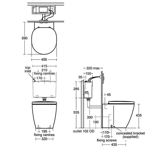 Technical drawing QS-V27981 / E608901