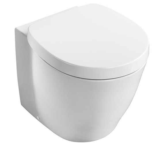 Ideal Standard Concept Freedom XL Back-To-Wall WC Pan 590mm