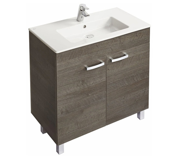 Ideal Standard Tempo Floorstanding 2 Door Vanity Unit With Legs 800mm
