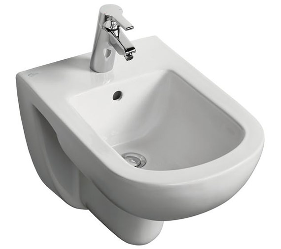 Ideal Standard Tempo Wall Mounted 1 Tap Hole Bidet