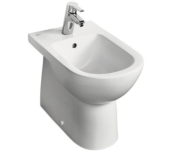 Ideal Standard Tempo Back-To-Wall 1 Taphole Bidet - T509001