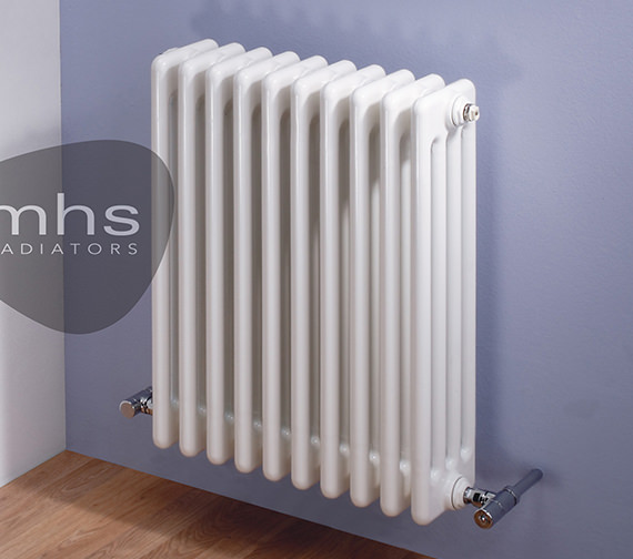 MHS Multisec Wall 3 Column Radiator 1350 x 602mm - NMW-0600-3-30