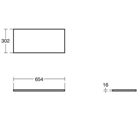 Technical drawing QS-V10495 / E3246SG