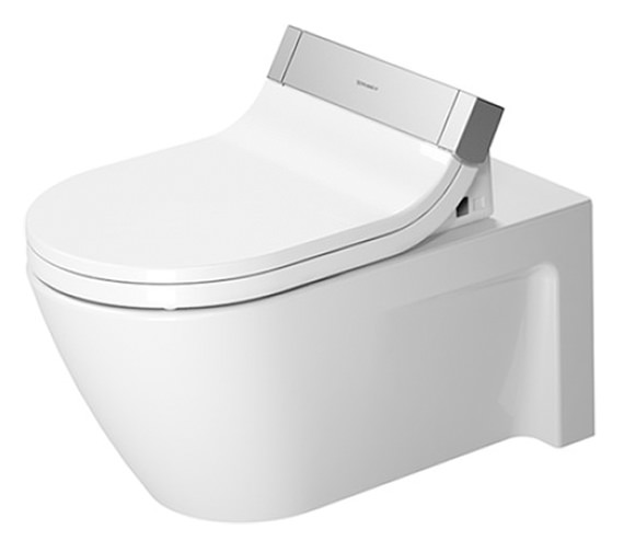 Duravit SensoWash e Seat With Starck 2 Wall Mount WC Pan