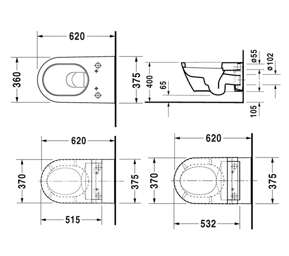Technical drawing QS-V43398 / 610001002004300