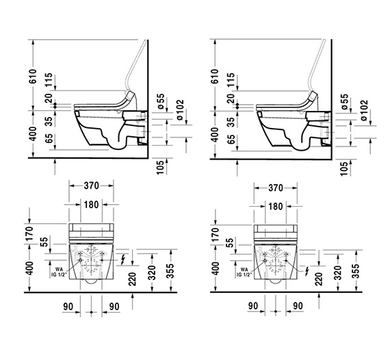 Technical drawing QS-V43398 / 610001002004300