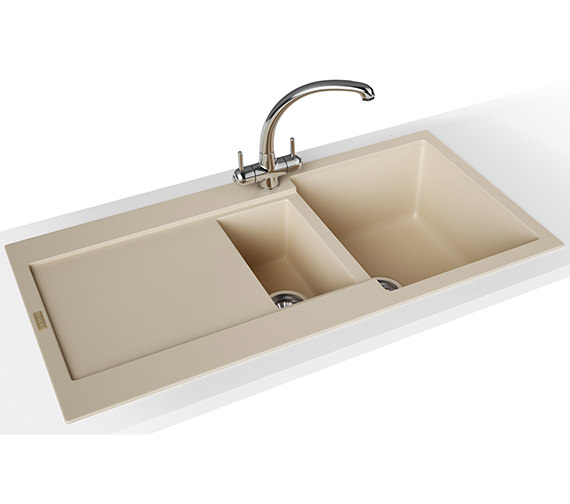 Franke Maris Propack MRG 651 Fragranite Coffee Kitchen Sink And Tap