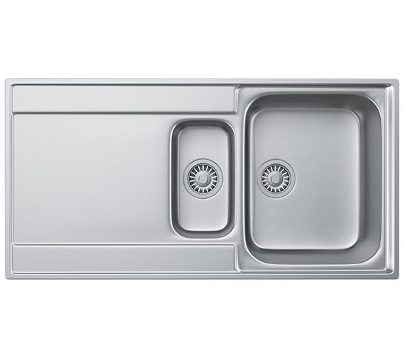 Franke Maris Slim-Top MRX 251 Stainless Steel 1.5 Bowl Kitchen Inset Sink