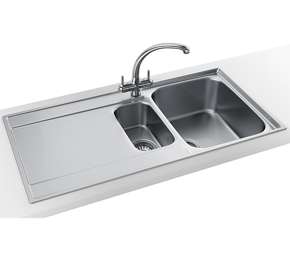 Franke Maris Slim-Top Propack MRX 251 Stainless Steel Kitchen Sink And Tap
