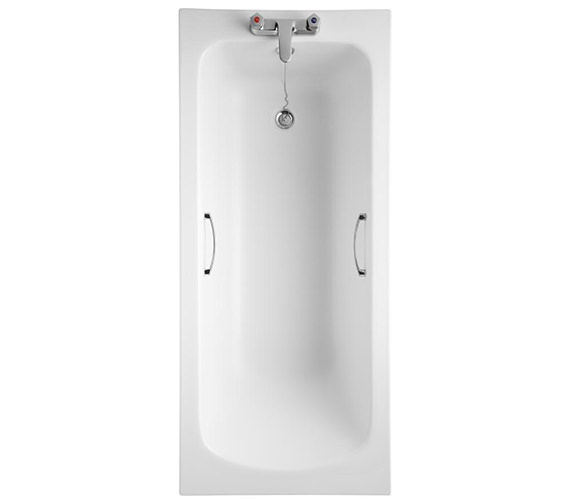 Armitage Shanks Sandringham 21 1600 x 700mm Idealform 2 TH Bath With Grips