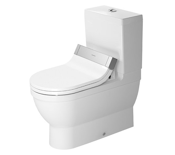 Duravit SensoWash e Seat With Starck 3 Close Coupled WC And Cistern