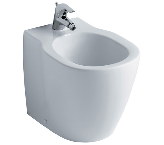 Ideal Standard Concept Back-To-Wall 1 Taphole Bidet - E800401