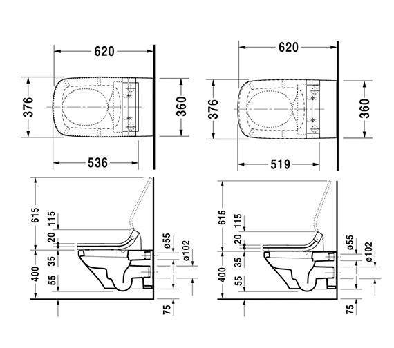 Technical drawing QS-V24923 / 610200002004300