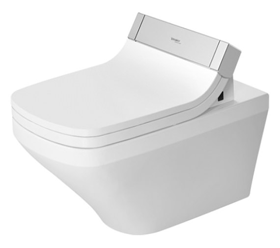 Duravit SensoWash Seat With DuraStyle Wall Mounted Rimless Toilet