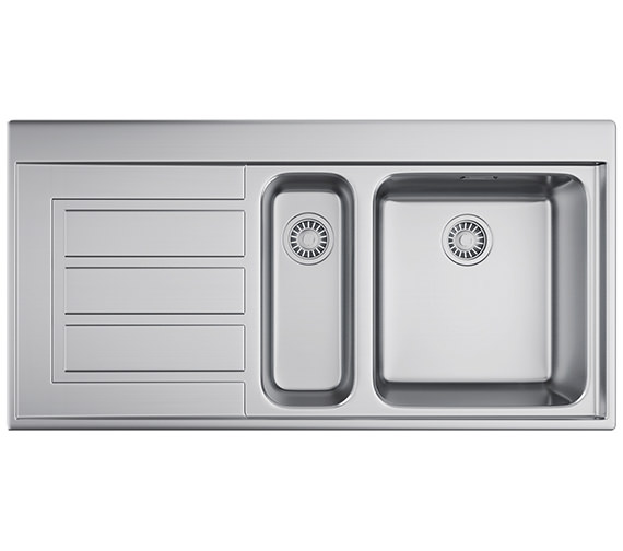Franke Epos EOX 651 Stainless Steel 1.5 Bowl Kitchen Inset Sink