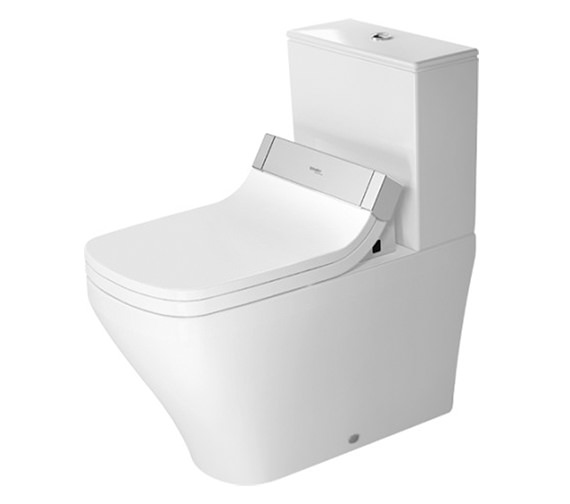 Duravit SensoWash Seat With DuraStyle Close Coupled Toilet