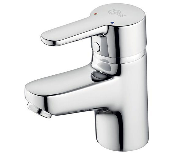 Ideal Standard Concept Blue Small Basin Mixer Tap Without Waste