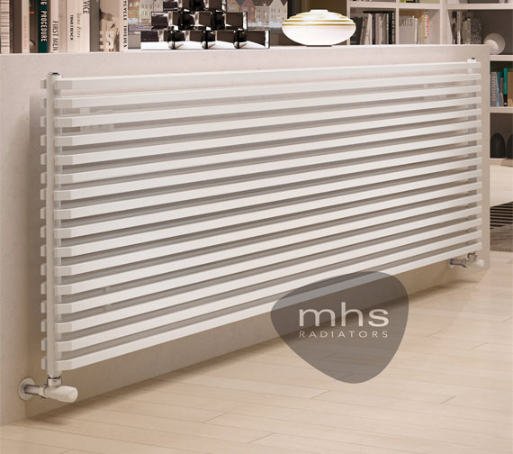 MHS Sax Horizontal Designer Radiator 1500 x 480mm - SHS011048150