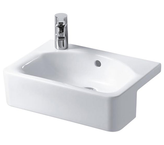 Ideal Standard Concept Space Cube 500mm Left Hand 1TH Semi-Countertop Basin