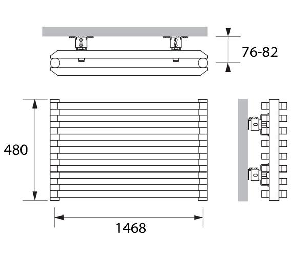 Technical drawing QS-V83225 / SHS011048150