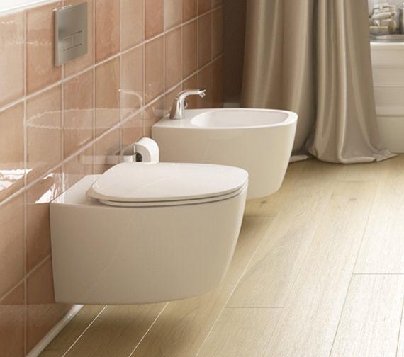ideal standard dea aquablade wall mounted wc pan 550mm t348601. Black Bedroom Furniture Sets. Home Design Ideas
