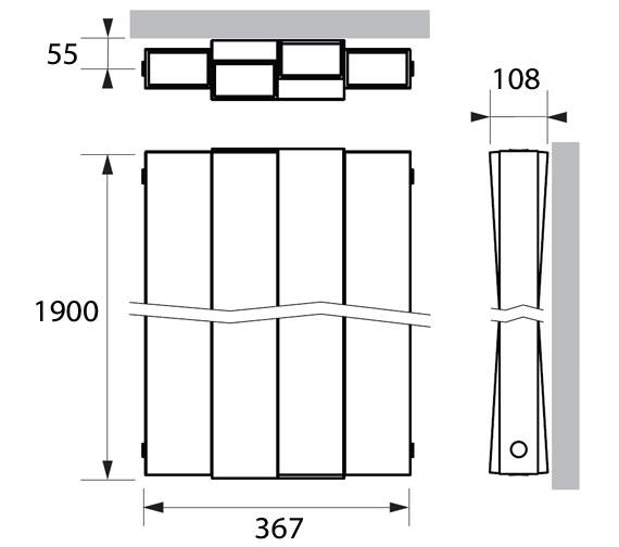 Technical drawing QS-V83365 / PIM011190036