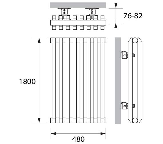 Technical drawing QS-V83360 / SVD011180048