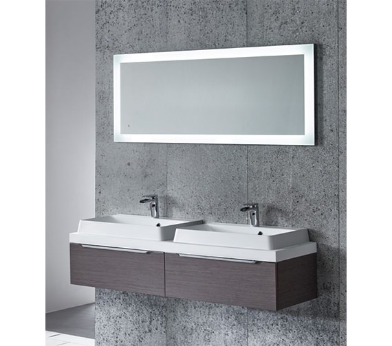 Tavistock Drift LED Backlit Illuminated Mirror - SLE560