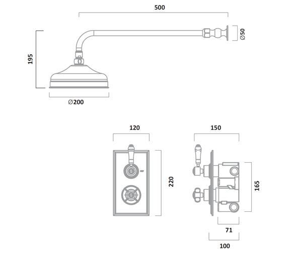 Technical drawing QS-V72931 / SVA0214