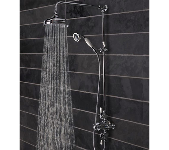 Tavistock Varsity Thermostatic Exposed Dual Function Shower Valve System