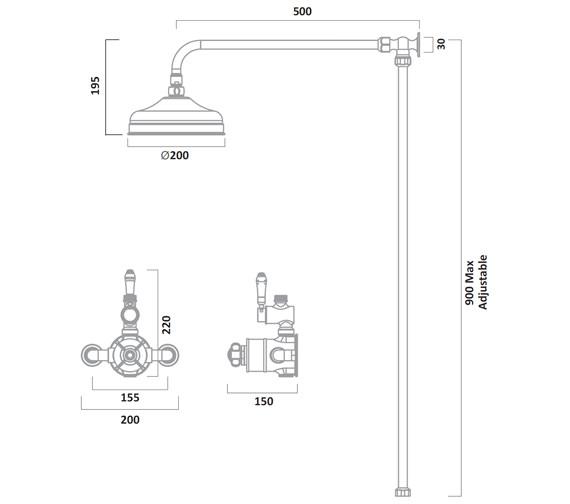 Technical drawing QS-V72934 / SVA1813