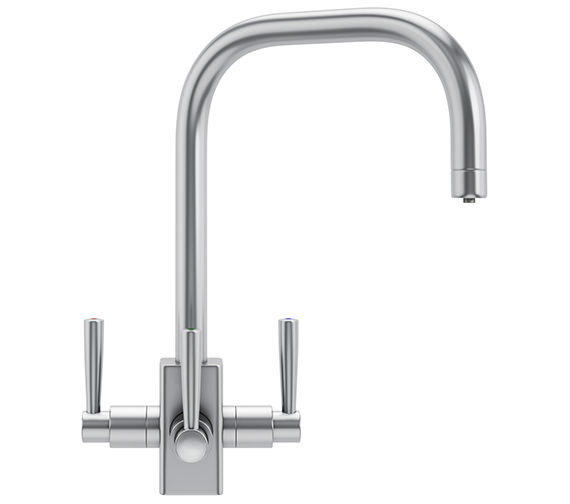 Franke FilterFlow Kubus Kitchen Sink Tap SilkSteel