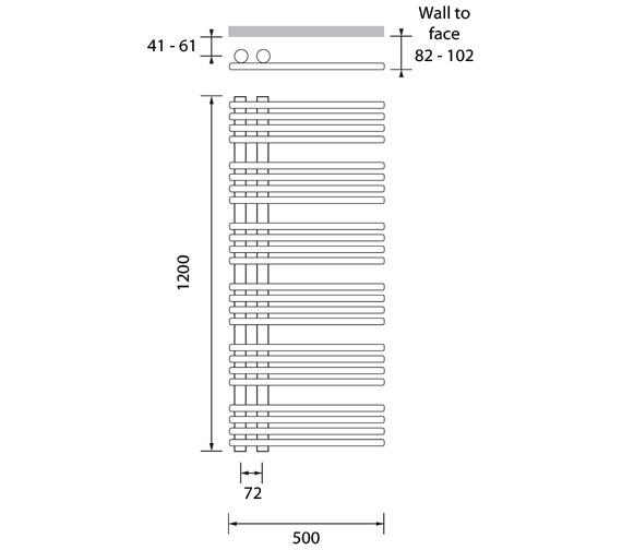 Technical drawing QS-V83091 / COM041120050