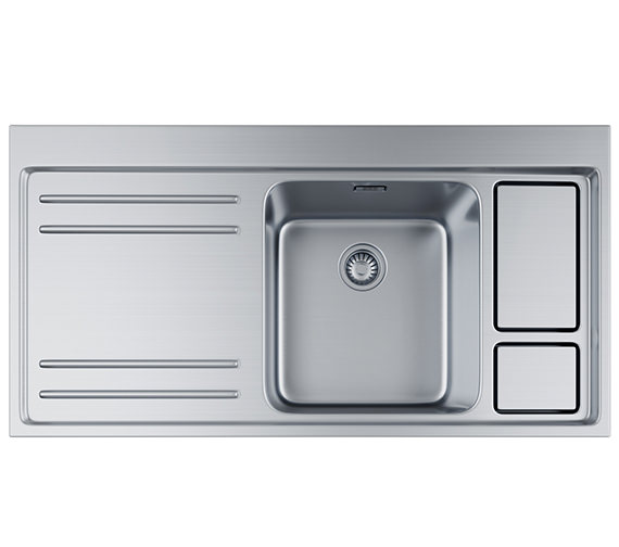 Franke Largo Workcentre LAX 211-W-36 Stainless Steel 1.0 Bowl Inset Sink