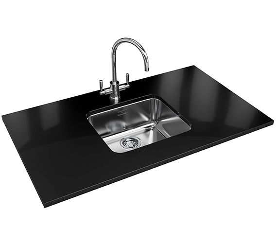 Franke Largo Designer Pack LAX 110 45 Stainless Steel Sink And Tap