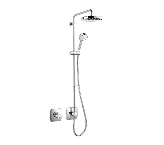 Mira Adept BRD Thermostatic Shower Mixer Chrome - 1.1736.406