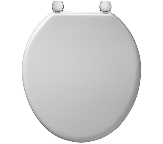 Armitage Shanks Bakasan Toilet Seat And Cover With Rod And Metal Hinges