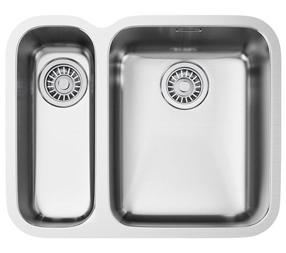 Franke Ariane ARX 160D Stainless Steel 1.5 Bowl Undermount Kitchen Sink