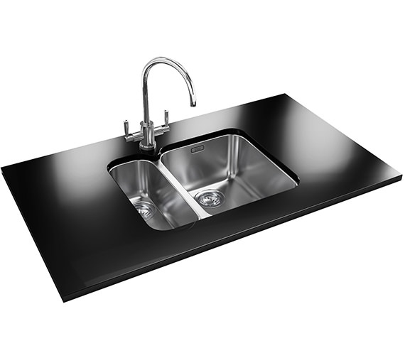 Franke Ariane Designer Pack ARX 160D Stainless Steel Kitchen Sink And Tap